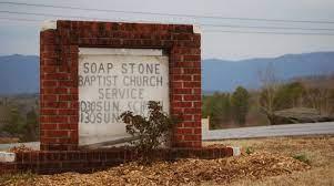 Soap Stone Baptist Church sign
